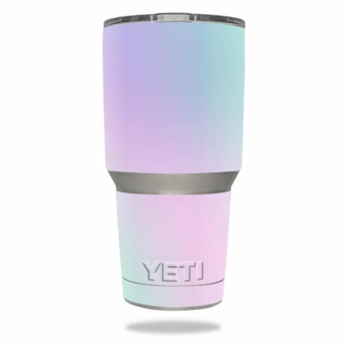 MightySkins YERAM30-Cotton Candy Skin for 30 oz Yeti Tumbler, Cotton Candy Perspective: front