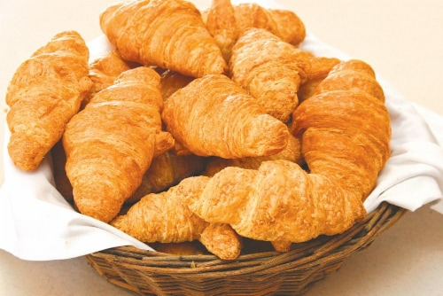 Little Brothers Mini Butter Croissants 18ct Perspective: front
