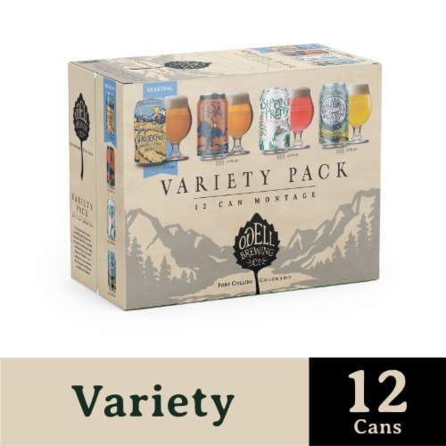 Odell Brewing Co. Montage Variety Pack Perspective: front