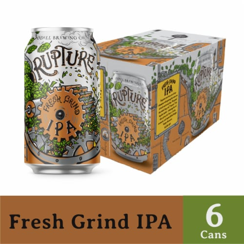 Odell Brewing Rupture IPA Perspective: front
