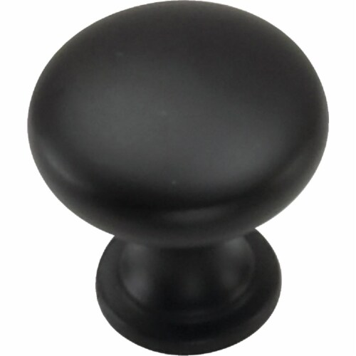 Laurey Oil Rubbed Bronze 1-1/8 In. Cabinet Knob 52566 Perspective: front
