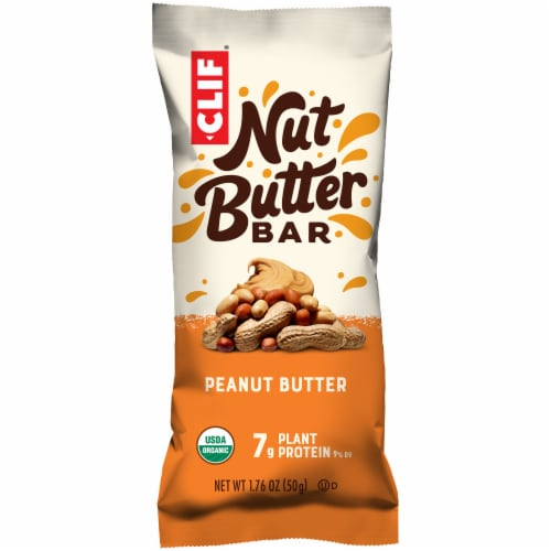 Clif Bar Organic Nut Butter Filled Peanut Butter Energy Bar Perspective: front