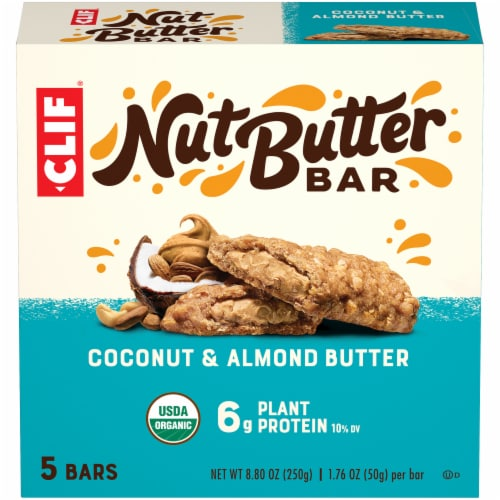 Clif Bar Nut Butter Filled Coconut & Almond Butter Energy Bars Perspective: front