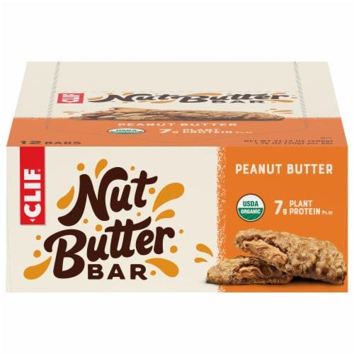 Clif Bar Nut Butter Filled Peanut Butter Bars Perspective: front