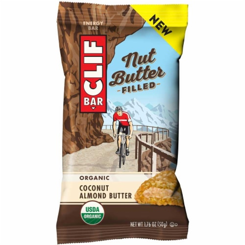 Clif Nut Butter Filled Coconut Almond Butter Energy Bar, 1.76 Ounce -- 144 per case. Perspective: front