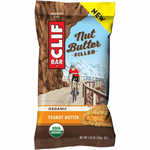 Clif Nut Butter Filled Peanut Butter Energy Bar, 1.76 Ounce -- 144 per case. Perspective: front