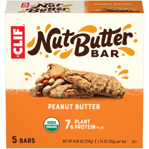 Clif Bar Nut Butter Filled Peanut Butter Energy Bars Perspective: front