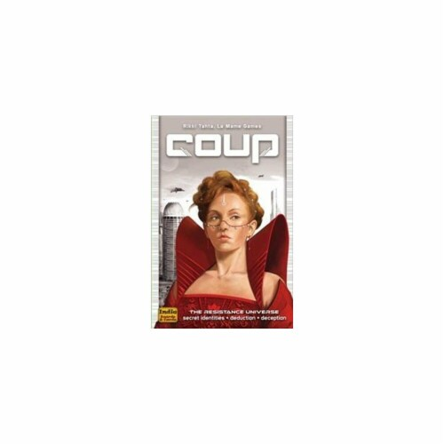 Coup Card Game Perspective: front