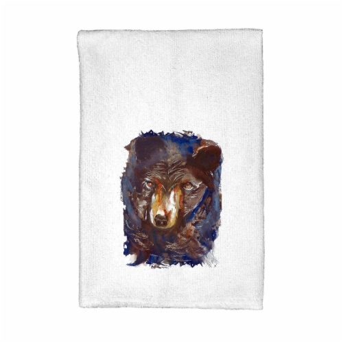 Betsy Drake KT281 Betsys Bear Kitchen Towel Perspective: front
