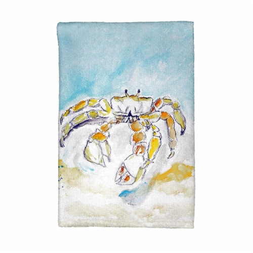 Betsy Drake KT717 Hovering Hummingbird Kitchen Towel Perspective: front