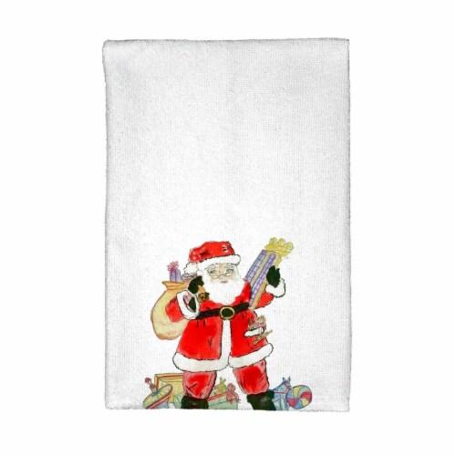 Betsy Drake KT902 Santa Kitchen Towel Perspective: front