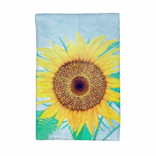 Betsy Drake KT1003 Dicks Sunflower Kitchen Towel Perspective: front