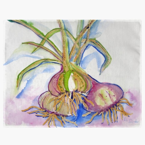 Betsy Drake PM1101 Vidalia Onions Place Mat - Set of 4 Perspective: front