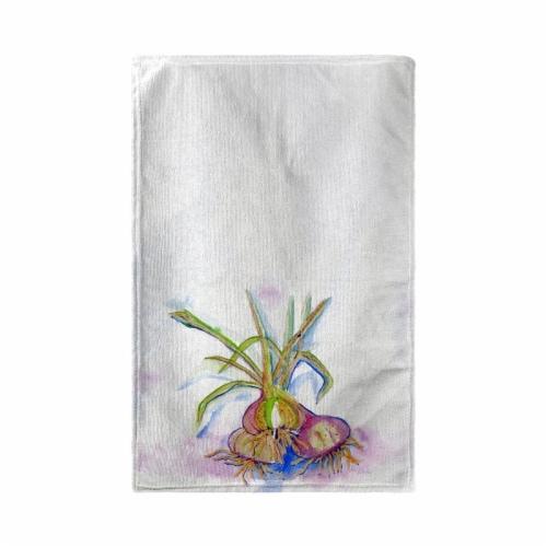 Betsy Drake KT1101 Vidalia Onions Kitchen Towel Perspective: front