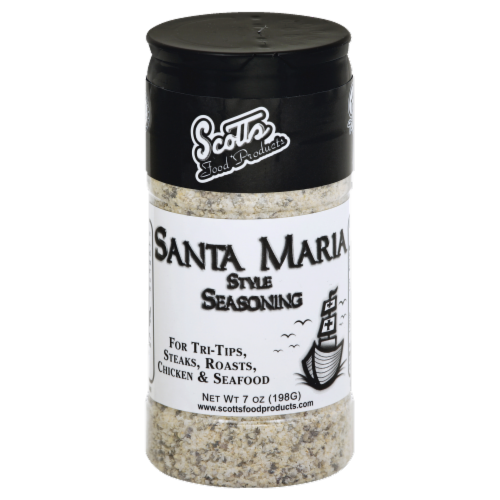 Scotts Food Products Santa Maria Style Seasoning Perspective: front