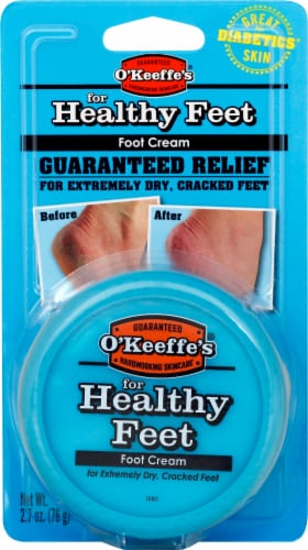 O'Keeffe's Healthy Feet Foot Cream Perspective: front