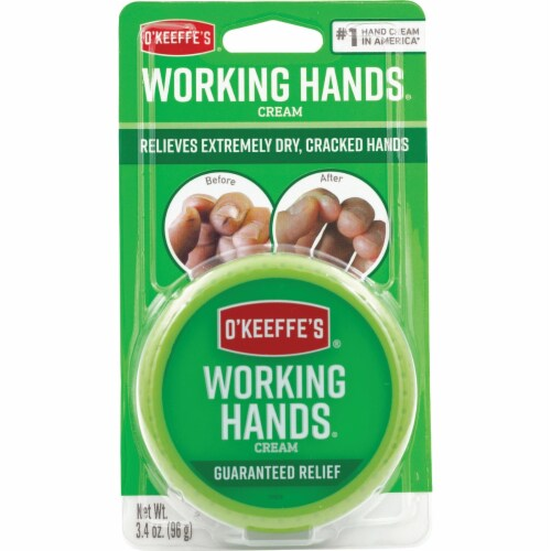 Okeefes Company TR3500-12 3.4 Oz Working Hands Cream Perspective: front
