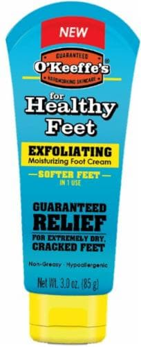 O'Keeffe's Exfoliating Moisturizing Foot Cream Perspective: front