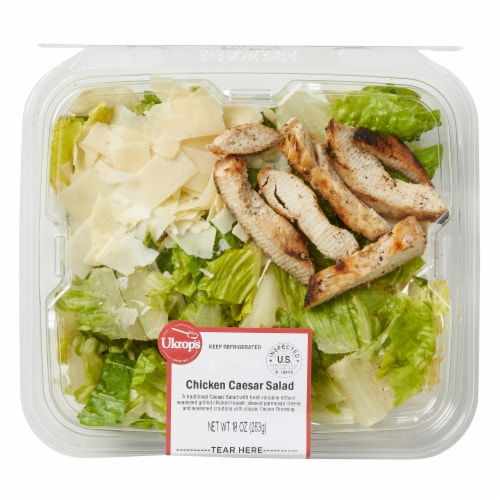 Ukrop's Chicken Caesar Salad Perspective: front