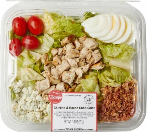 Ukrop's Chicken & Bacon Cobb Salad Perspective: front