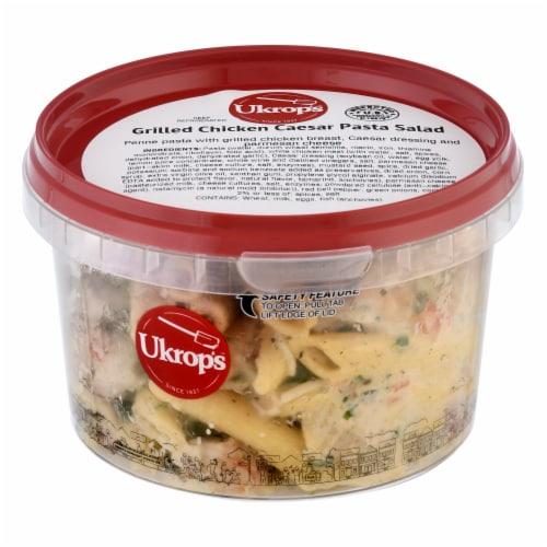 Ukrop's Homestyle Foods Grilled Chicken Caesar Pasta Salad Perspective: front