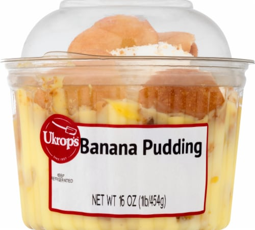 Ukrop's Banana Pudding Perspective: front