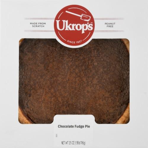 Ukrop's™ Chocolate Fudge Pie Perspective: front