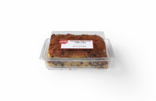 Ukrop's Homestyle Foods Chocolate Chip Crumb Coffee Cake Perspective: front