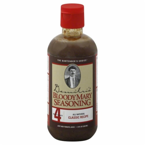 Demitri's Classic Bloody Mary Seasoning Perspective: front