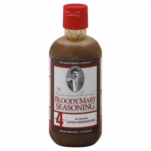 Demitri's Extra Horseradish Bloody Mary Seasoning Perspective: front