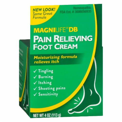 Magnilife DB Pain Relieving Foot Cream Perspective: front