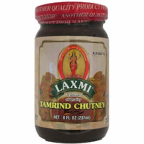 Laxmi Tamarind Chutney - 8 Oz (226 Gm) Perspective: front