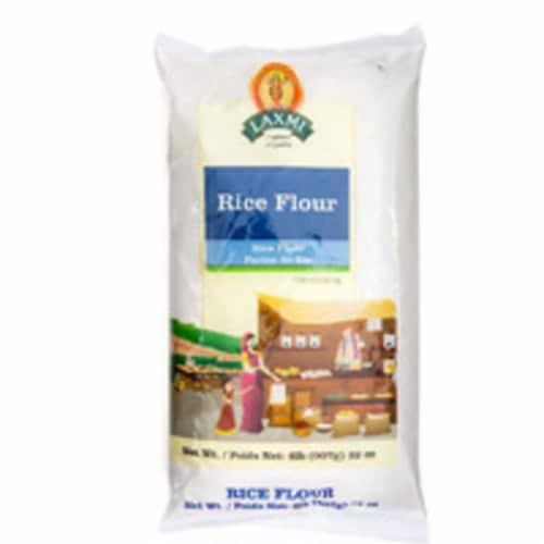 Laxmi Rice Flour - 2 Lb (907 Gm) Perspective: front