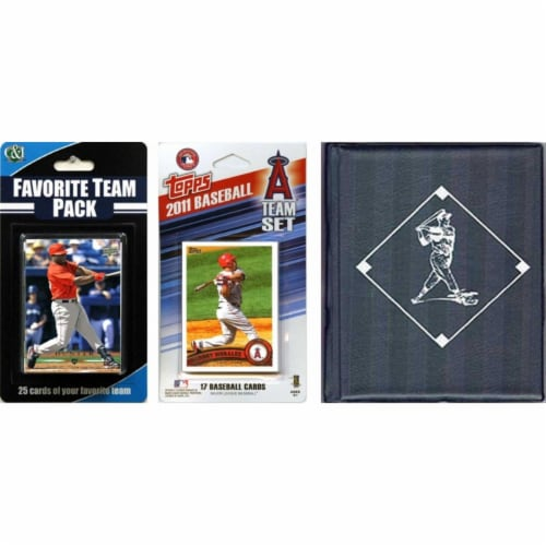 C & I Collectables 2011ANGELSTSC MLB Los Angeles Angels Licensed 2011 Topps Team Set and Favo Perspective: front