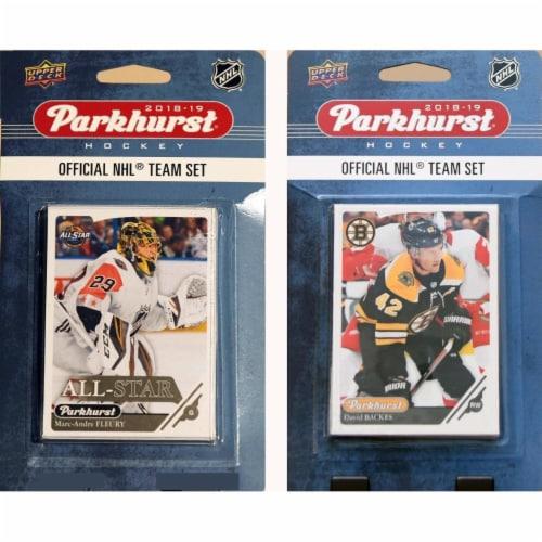 C&I Collectables 18BRUINSTS NHL Boston Bruins 2018-19 Parkhurst Team Set & an All-star set Perspective: front