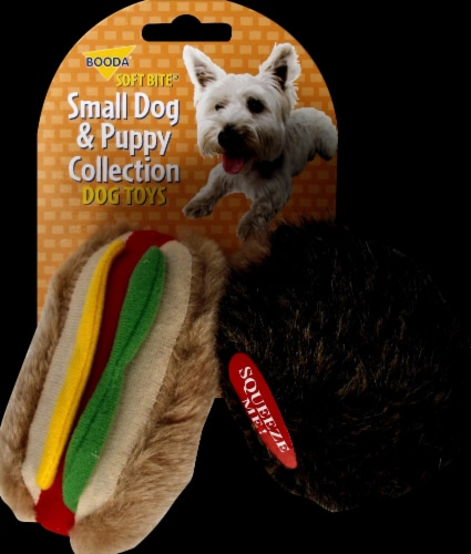 Booda® Soft Bite Small Dog & Puppy Collection Dog Toys Perspective: front