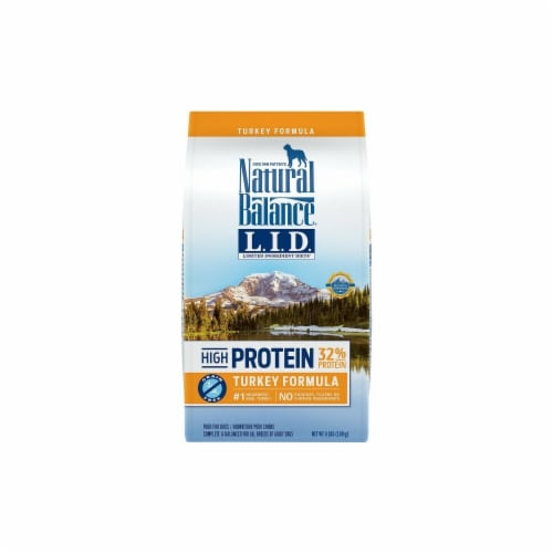 Natural Balance Pet Foods NA27840 Turkey Grain Free High Protein Dry Dog Food - 4 lbs Perspective: front