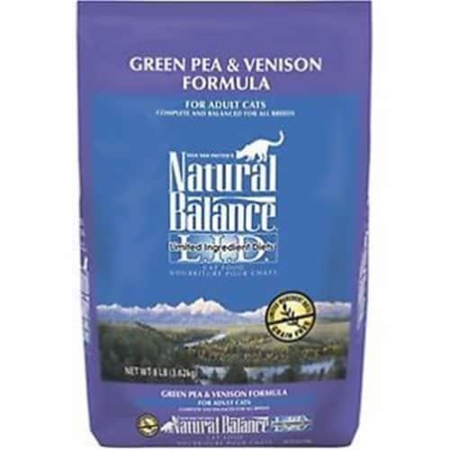 Natural Balance Pet Foods NA52066 Lid Green Pea & Venison Cat Food Perspective: front