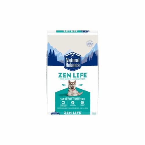 Natural Balance Pet Foods NA72579 24 lbs Natural Balance Targeted Nutrition Zen Life Turk Dog Perspective: front