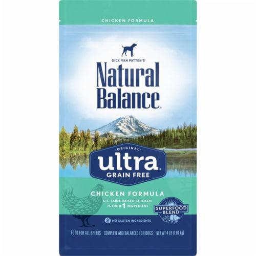 Natural Balance Pet Foods NA77414 11 lbs Original Ultra Grain Free Chicken Dog Food Perspective: front