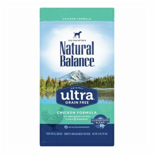 Natural Balance Pet Foods NA77416 24 lbs Original Ultra Grain Free Chicken Dog Food Perspective: front