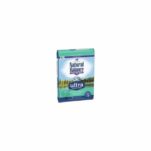 Natural Balance Pet Foods NA77424 24 lbs Ultra Grain Free Large Breed Chicken Dog Food Perspective: front