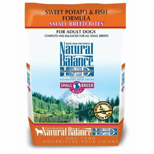 Natural Balance Pet Foods NA77805 4 lbs LID Salmon & Sweet Potato Small Breed Perspective: front
