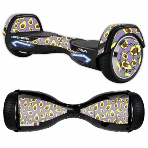 MightySkins RAHOV2-Purple Avocados Skin Decal Wrap for Razor Hovertrax 2.0 Hover Board - Purp Perspective: front