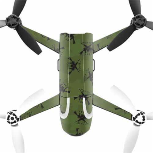 MightySkins PABEBOP2-2Molon Labe Skin Decal Wrap for Parrot Bebop 2 Quadcopter Drone - Molon Perspective: front
