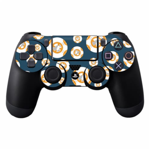 Mightyskins SOPS4CO-Mini Galaxy Bots Skin Decal Wrap for Dualshock PS4 Controller - Mini Gala Perspective: front