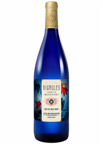 Les Bourgeois Vignoles Semi-Dry White Wine Perspective: front