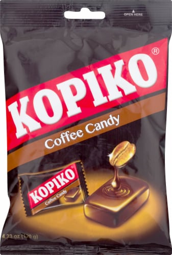 Kopiko Coffee Candy Perspective: front