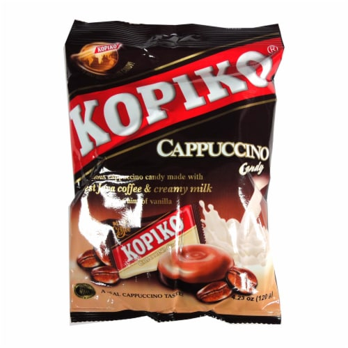Kopiko Cappuccino Candy Perspective: front
