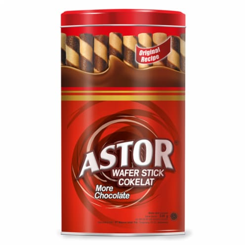 Astor Chocolate Wafer Sticks Perspective: front